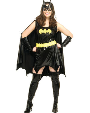 Плюс розмір Sexy Batgirl дорослих костюм