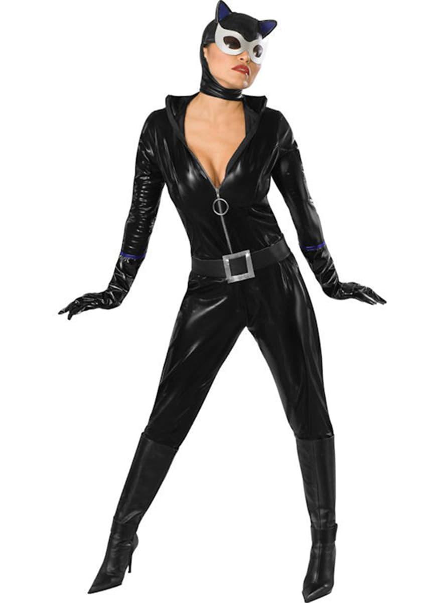 catwoman kostume voksen