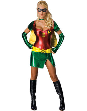 Sexy Robin Super Heroine Adult Costume