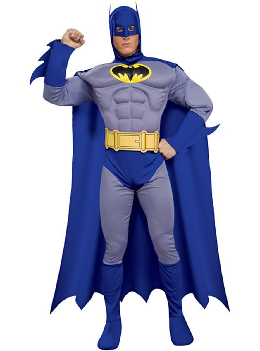 Muscular Batman The Brave and the Bold Adult Costume  sc 1 st  Funidelia & Muscular Batman The Brave and the Bold Adult Costume: buy online at ...
