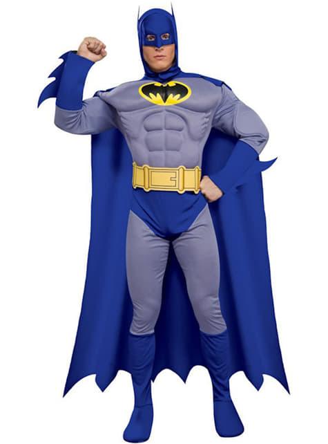 Fato de Batman the Brave and the Bold Musculoso