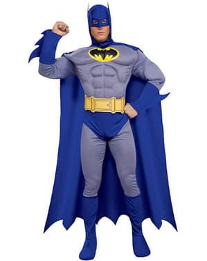 שרירים באטמן אמיץ ואת התלבושות למבוגרים המודגשות
