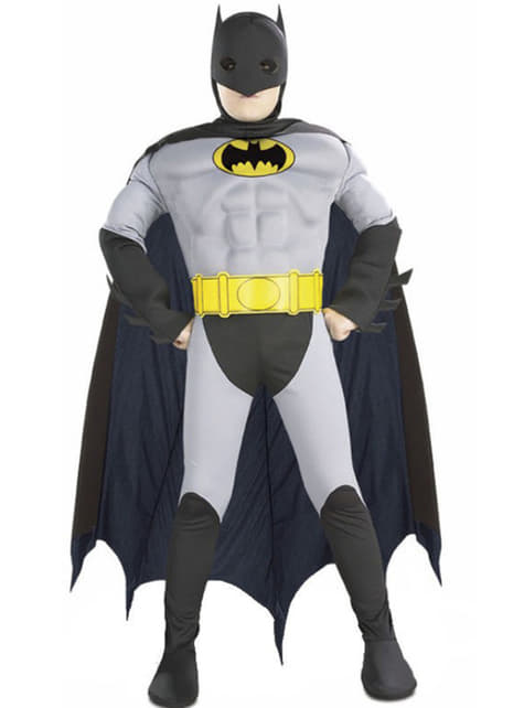 Muscular Batman Kids Costume