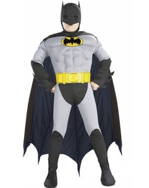Muskulær Batman barnekostyme