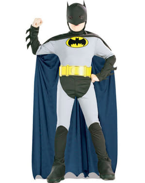Boys Animated Batman Costume