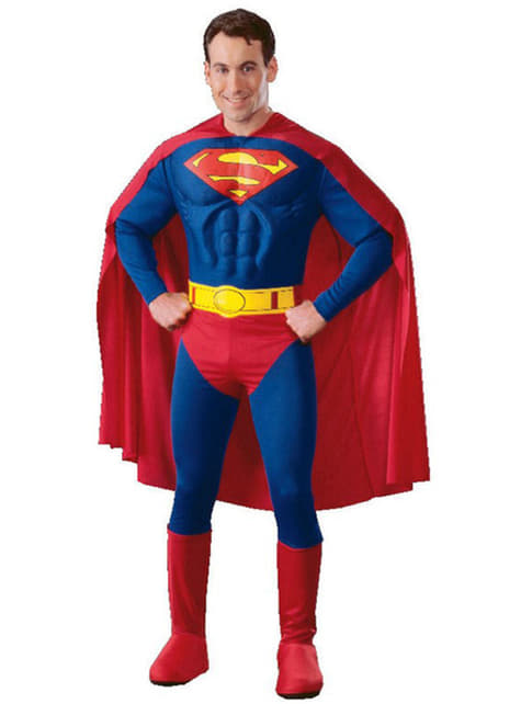 Muscular Superman Adult Costume