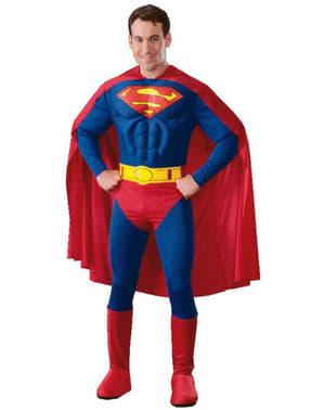 Superman Kostüm mit Muskeln Classic