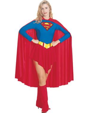Supergirl Kostüm mit langem Umhang