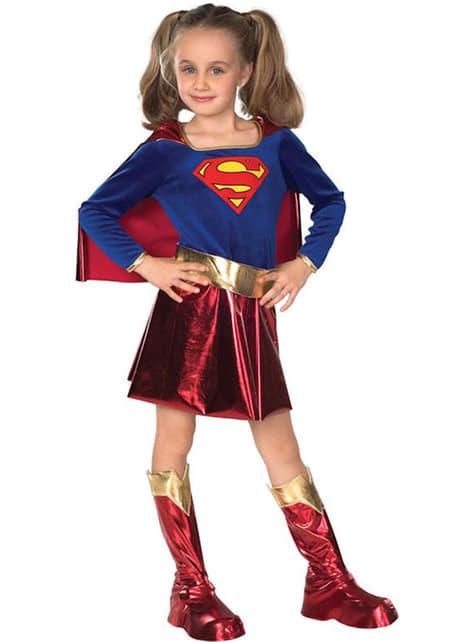 Mädchenkostüm Supergirl Deluxe