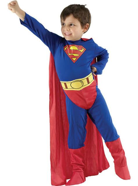 Superman Superhelt Barnekostyme