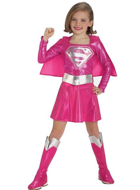 Mädchenkostüm Supergirl