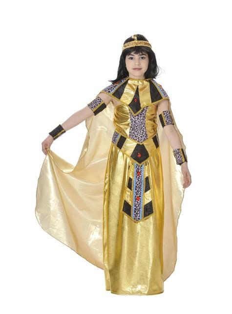 Fato de rainha do Nilo