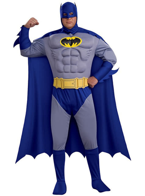 Muscular Batman The Brave and the Bold Adult Costume