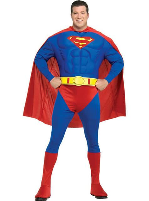 Disfraz de Superman musculoso - hombre