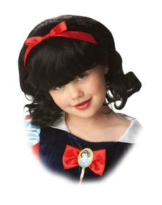 Parrucca Biancaneve per bambina