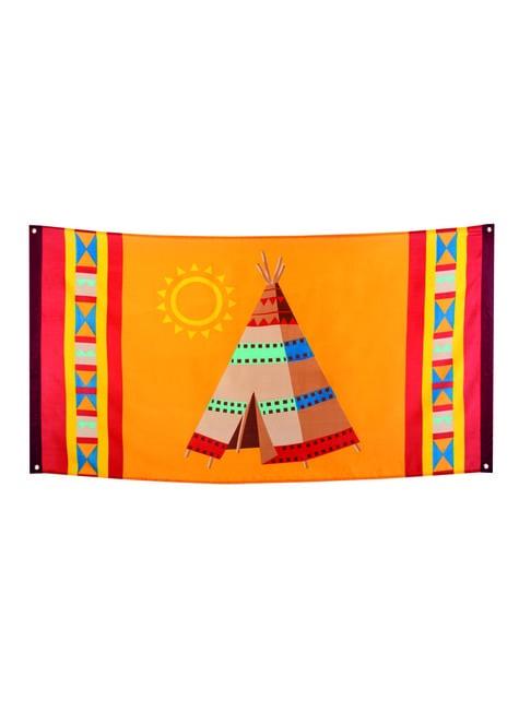 Bandera india grande