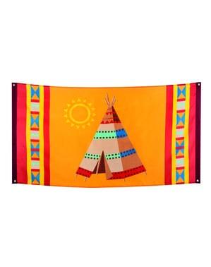 Bandeira índia grande