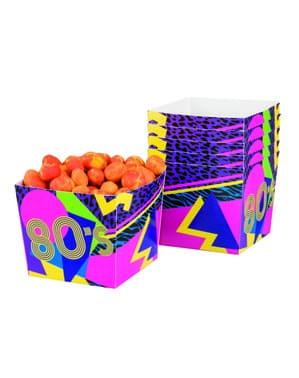 Комплект от 6 80-те кутии за отворени партита
