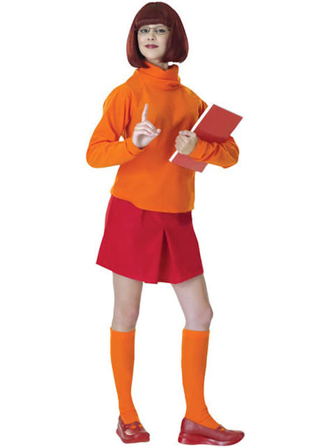 Disfraz de Vilma de Scooby-Doo