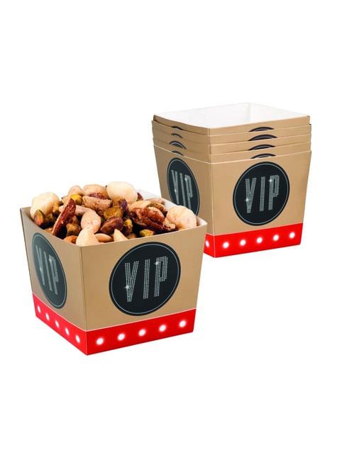 Set de 6 cajas de fiesta VIP