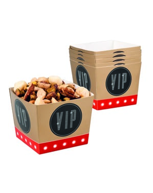 6 VIP open-top party boxes