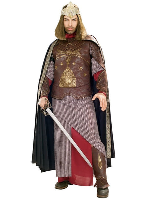Kostým pro dospělé král Aragorn deluxe