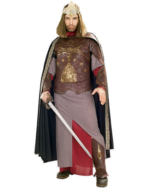 Maskeraddräkt Kungen av Aragon deluxe