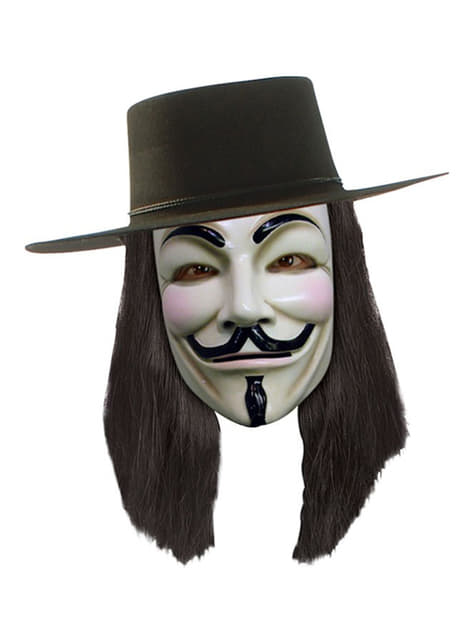 V for Vendetta sort paryk