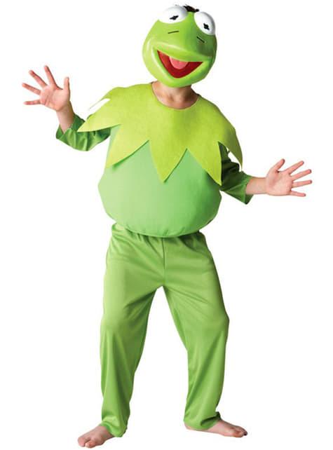 Kermit Frosken The Muppets Kostyme Barn