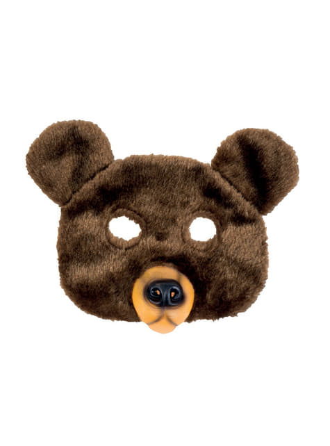Mască de ursuleț de pluș