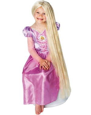 Детска перука на Рапунцел