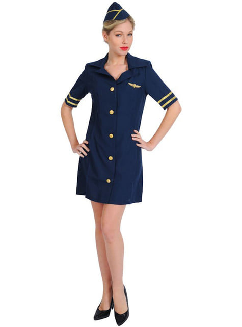 Disfraz de Azafata de avión