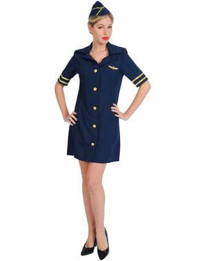 Airline stewardess costume