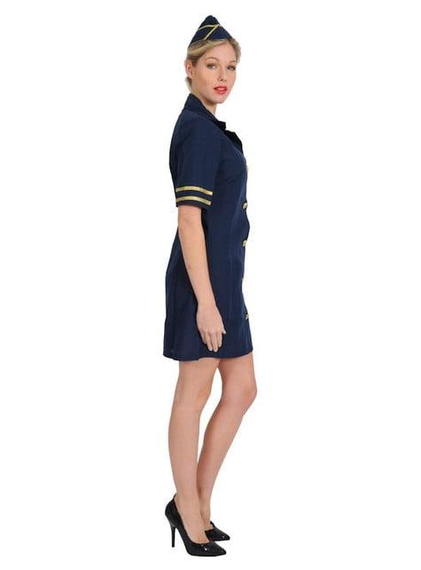 Disfraz de Azafata de avión - mujer