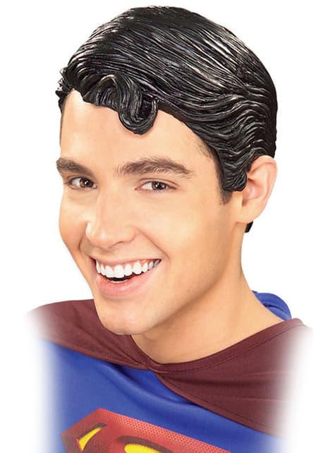 Peruca de Super-Homem de vinil