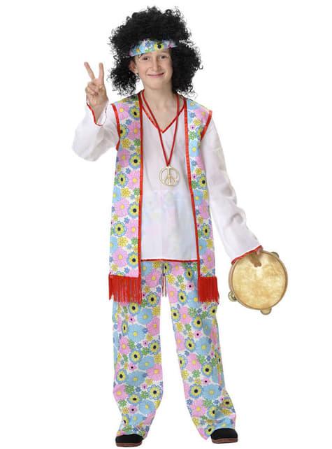 Chlapecký kostým hippie