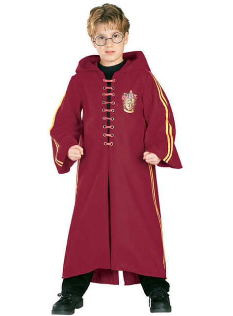 Kostium deluxe dla chłopców szata Quidditch Harry Potter