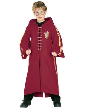 Costum Harry Potter tunică Quidditch Deluxe băiat