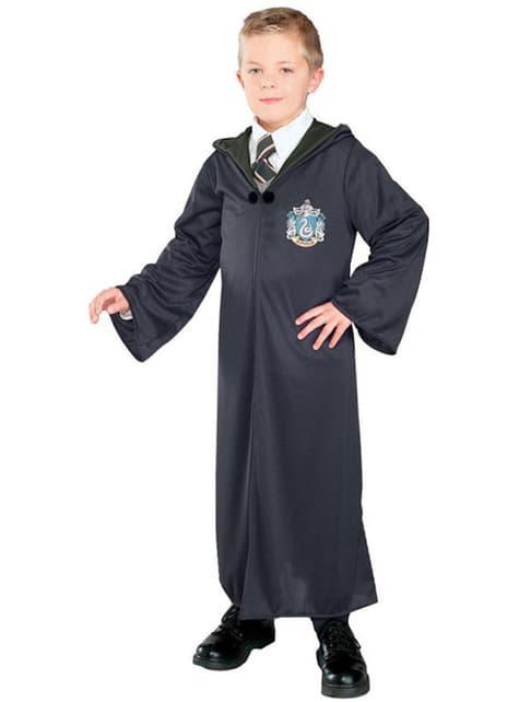 Fato de Harry Potter com Capa Casa Slytherin para menino