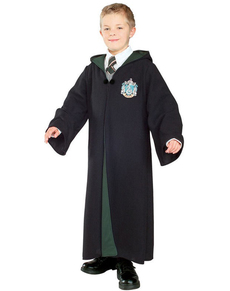 Amazing Deluxe Harry Potter House Of Slytherin Robe (Child)