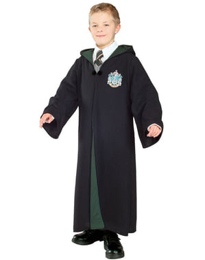 Deluxe Harry Potter House of Slytherin robe (Kids)