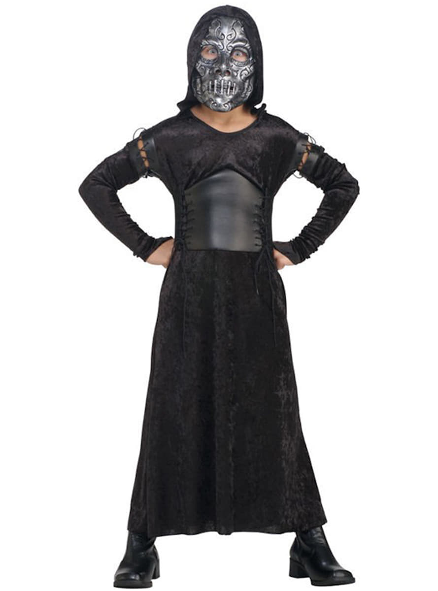Detalle Zoom  sc 1 st  Funidelia & Deluxe Death Eater Child Costume (Female): buy online at Funidelia.