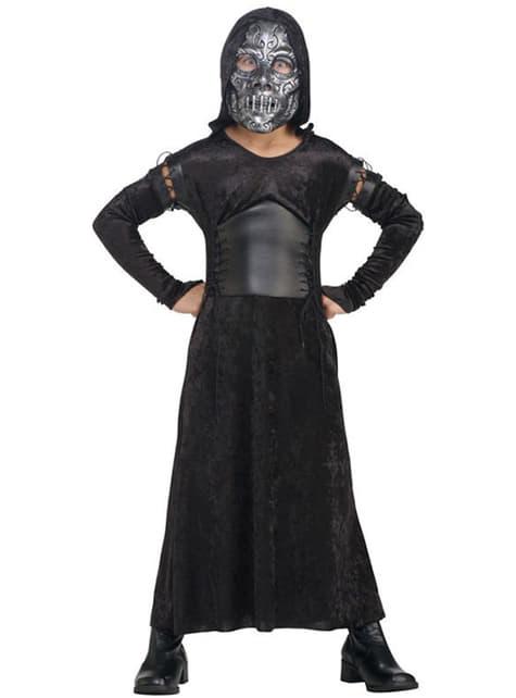 Делукс костюм за деца, поглъщащи смъртта (женски)
