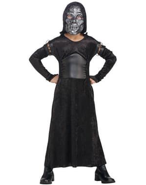 Kostium Śmierciożerca deluxe dla dziewczynki