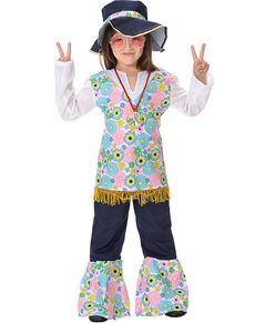 Hippie costume for a girl  sc 1 st  Funidelia & Kids 60s Costumes u0026 Hippie Outfits online | Funidelia