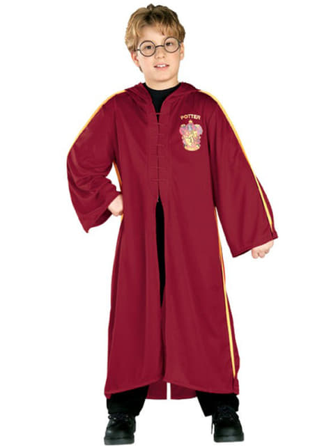 Fato de Harry Potter capa Quidditch menino