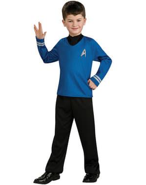 Blått Spock Star Trek Kostyme Barn