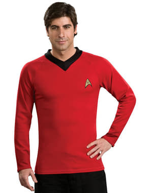 Costume Star Trek Scotty rosso classico