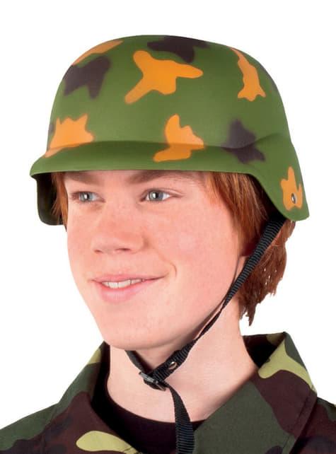 Cască de militar pentru copii
