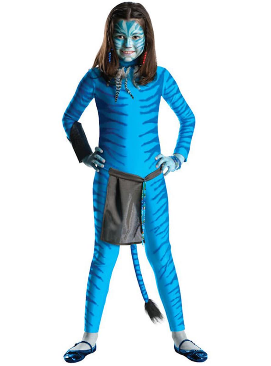 fcab462a2 Fato de Neytiri de Avatar para menina